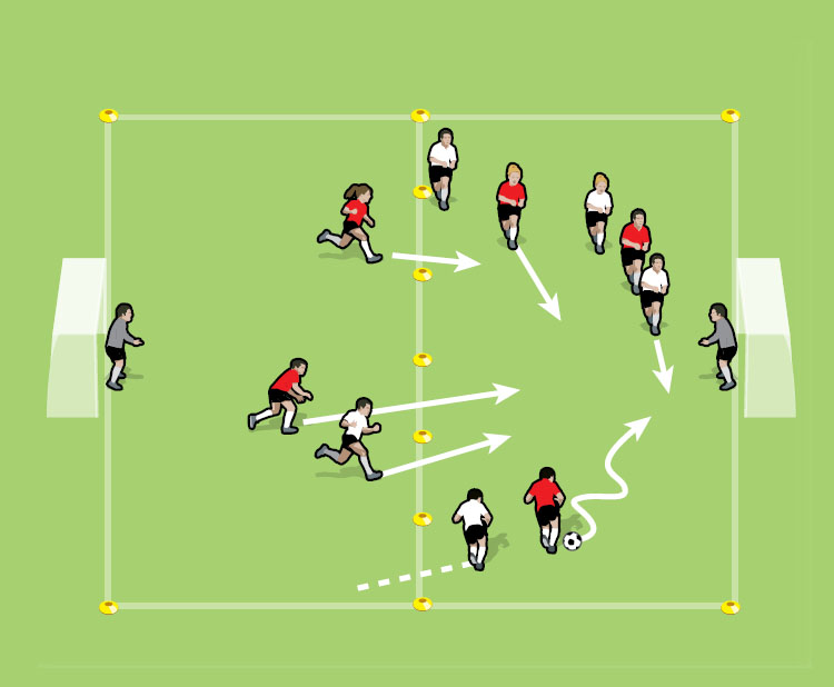 Up and Down drill for 12 to 15 Year Olds- part 1